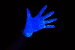 Photo of luminous glove Stock Photography