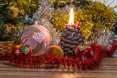 Photo magique de Noël Photos stock