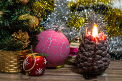 Photo magique de Noël Images libres de droits