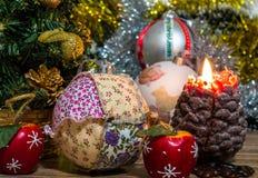 Photo magique de Noël Image stock
