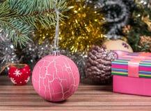 Photo magique de Noël Photographie stock