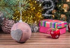 Photo magique de Noël Photographie stock libre de droits