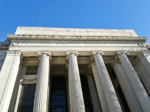 Main building of the Massachusetts Institute of Technology stock photos
