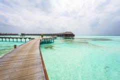 Maldivian landscape royalty free stock photography