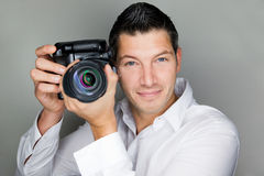 Photo man Stock Images