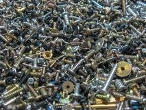 Photo of many Bolts and screw stock image