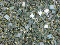 Photo of  many square LED lights. Photo of  many LED,square LED lights expensive soldering electronic lot micro lenses more close up component quality ledsquare stock images