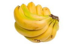 Photo of many yellow banana Stock Photography
