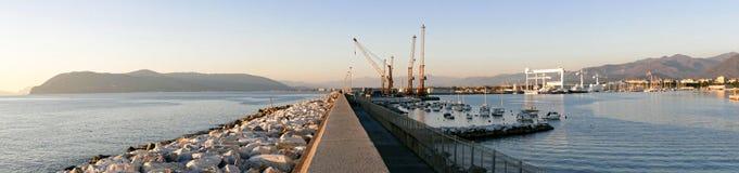 photo of marina di carrara harbour Stock Photos