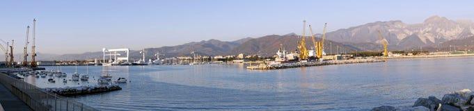 photo of marina di carrara harbour Stock Photography