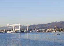photo of marina di carrara harbour Royalty Free Stock Photography