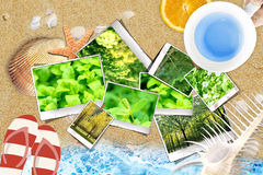 Photo Memories of overlying sands - Graphic synthesis Stock Images