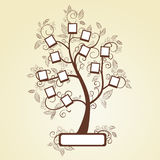 Photo. Memories tree with photo frames Stock Photography