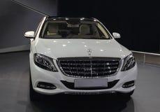 Photo of Mercedes-Benz Maybach car. Stock Image
