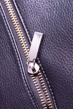 Photo metal zipper Royalty Free Stock Photo