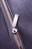Photo metal zipper Royalty Free Stock Photo
