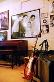 Sun Studios, Memphis, Tennessee. A Photo of the Million Dollar Quartet Hangs in Sun Studios, Memphis, TN royalty free stock image