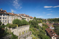 Photo from the Minster Terrace or Munsterplattform (Bern, Switzerland) Stock Images