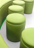 Photo of modern,comfortable,cushy & stylish stools Stock Image