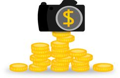 Photo money Stock Images