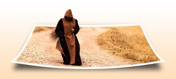 Photo, Monk, Memory, Middle Ages Royalty Free Stock Image