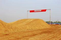 Photo of Motocross Race Finish Line stock photography