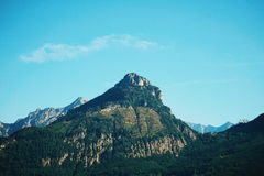Photo of a Mountain during Day Time Royalty Free Stock Photography