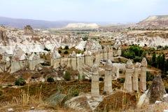 Photo mountain landscape of Cappadocia Royalty Free Stock Photography