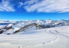 Photo of Mountains With White Snow Stock Photos