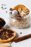Mulled wine ingredients, christmas royalty free stock images