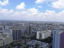 Photo  Nairobi Kenya. Aerial view of Nairobi the capital city of Kenya Royalty Free Stock Photos