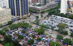 Photo  Nairobi Kenya. Aerial view of parking lot in Nairobi the capital city of Kenya l Stock Photo