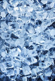 Photo of natural ice cubes. Royalty Free Stock Images