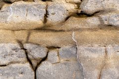Photo of natural slate texture close up stock photo