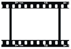 Photo negative horizontal royalty free stock images