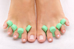 Photo of nice clean feet Royalty Free Stock Photography