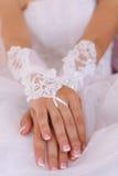 Photo noire et blanche d'anneaux de mariage Photographie stock libre de droits