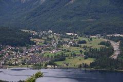 Photo of Obertraun in Hallstatt stock image