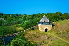 Free Photo Of Ancient Stone Castle Tower In Khotym Royalty Free Stock Photos - 142897218