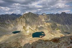 Photo Of Mlynicka Dolina And Capie Pleso Lake In High Tatra Mountains, Slovakia, Europe Royalty Free Stock Photography