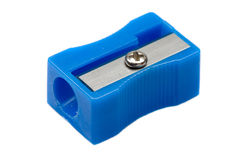Photo Of One Pencil-sharpener Royalty Free Stock Images