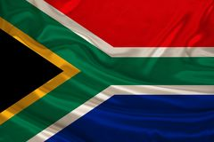 Free Photo Of South Africa National Flag On A Luxurious Texture Of Satin, Silk With Waves, Folds And Highlights, Closeup, Copy Space, Stock Image - 159825791
