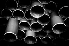 Pvc tubes/pipes royalty free illustration