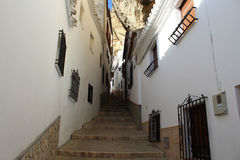 Photo of old andalusia street Royalty Free Stock Photo