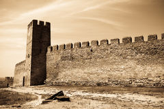 Photo of old castle. In vintage style. #3 Stock Image