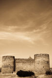 Photo of old castle. In vintage style. #1 Stock Photos
