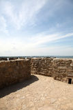 Photo of old castle highwalls Royalty Free Stock Photography