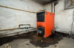 Photo of old furnace Stock Photography