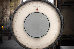 Photo of old industrial balance scale Royalty Free Stock Image
