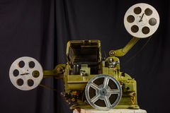 Photo of an old movie projector Stock Images